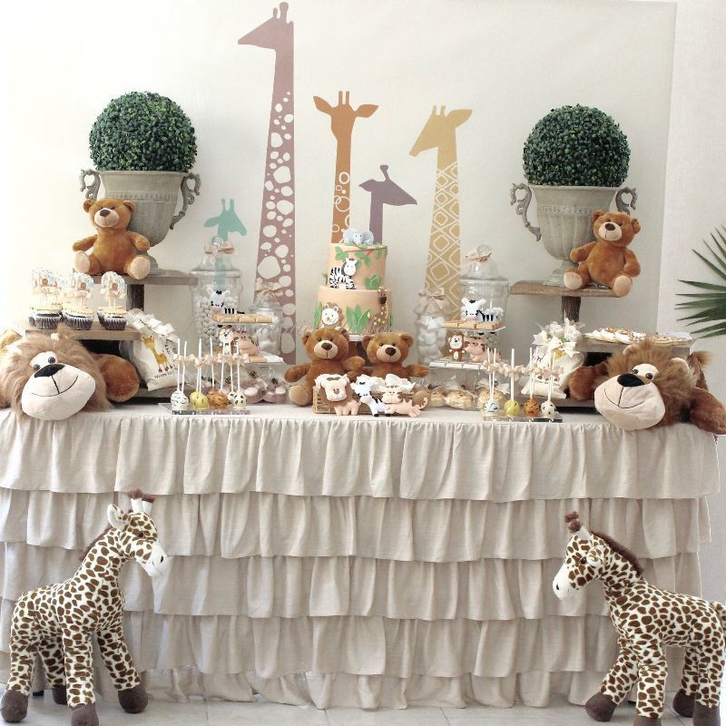 Baby Boy Dessert Tables