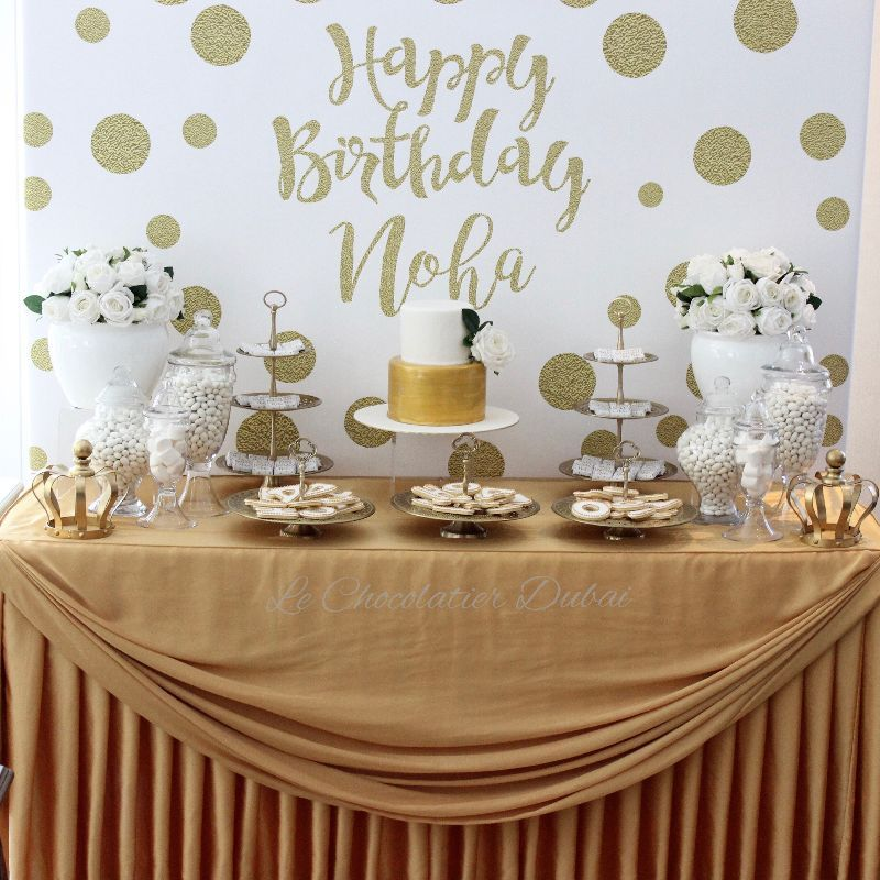 Birthday Dessert Tables